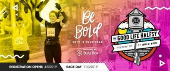 Good Life Halfsy | Nebraska Half Marathon | November 3, 2019