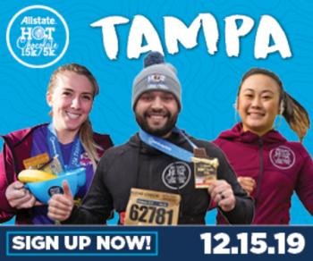 2019 Allstate Hot Chocolate 15k/5k Tampa