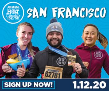 2020 Allstate Hot Chocolate 15k/5k San Francisco