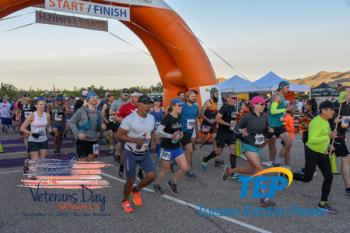 Everyone Runs TMC Veterans Day Half Marathon and 5k at Old Tucson