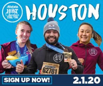 2020 Allstate Hot Chocolate 15k/5k Houston