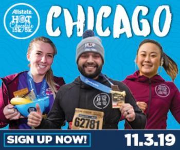 2019 Allstate Hot Chocolate 15k/5k Chicago