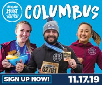 2019 Allstate Hot Chocolate 15k/5k Columbus