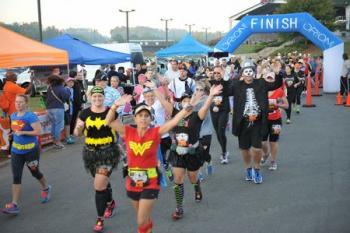 2019 North Carolina Halloween Half Marathon and 5K