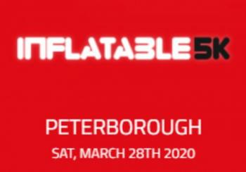 Inflatable 5k Obstacle Course Run - Peterborough