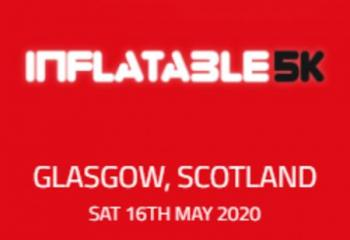 Inflatable 5k Obstacle Course Run - Glasgow