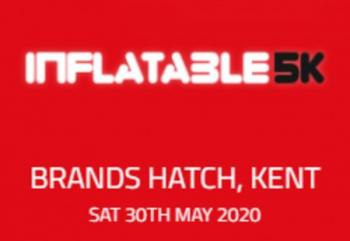 Inflatable 5k Obstacle Course Run - Brands Hatch