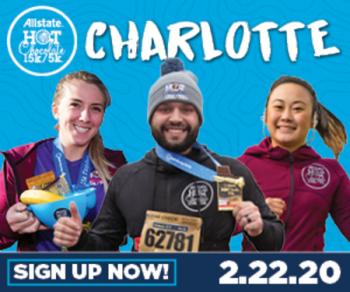 2020 Allstate Hot Chocolate 15k/5k Charlotte