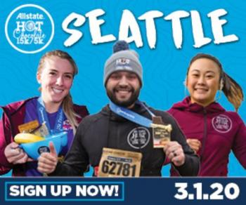 2020 Allstate Hot Chocolate 15k/5k Seattle