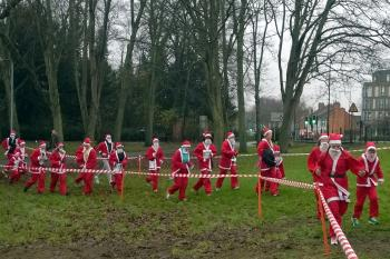 Northampton Santa Fun Run