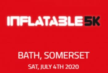Inflatable 5k Obstacle Course Run - Bath, Somerset