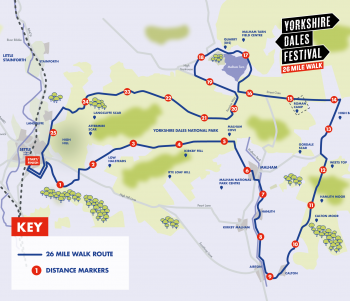 Asda Foundation Yorkshire Dales Festival 26 Mile Walk