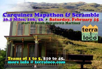 Carquinez Mapathon & Scramble