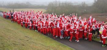Draycote Water Santa Dash 10K and 5 Mile - Sunday 13 December 2020