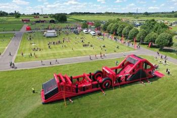 Inflatable 5k Obstacle Course Run - Bicester