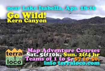 Go Wild! Kern Canyon 2hr, 4hr