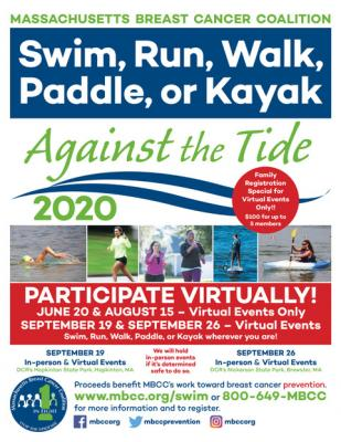 Against the Tide Hopkinton – Virtual & In-Person