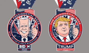 PRESIDENTIAL Half Marathon and 5K/10K - Virtual Race - Complete from ANYWHERE! Huge MEDALS!