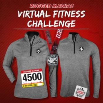 Rugged Maniac Virtual Fitness  Challenge