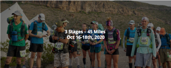 Trans-Pecos Ultra - Virtual Stage Race 2020