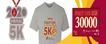 Fight On! Virtual 5K (in partnership with the USC Alumni Association)
