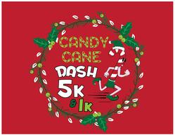 Virtual Candy Cane Dash 5K
