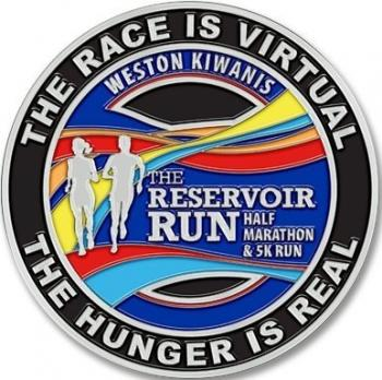 The Virtual Reservoir Half Marathon and 5K Runs October 17th through October 25th 2020