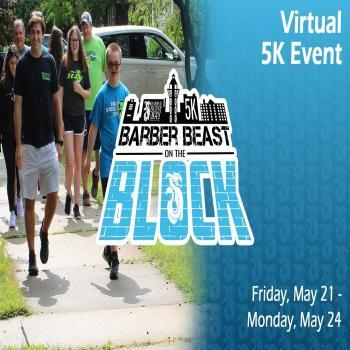 Barber Beast on the Block Virtual 5K