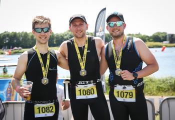 Banana Triathlon, 3rd July, Dorney Lake