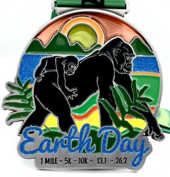 Earth Day 1M 5K 10K 13.1 26.2
