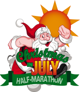 Christmas in July Half Marathon and 5K Indy