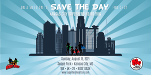 Kansas City Superhero Heart Run
