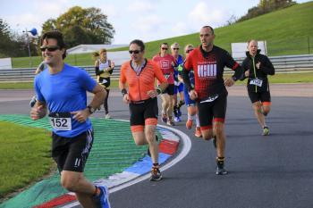 Thruxton Circuit Run