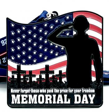 Memorial Day 1M 5K 10K 13.1 26.2 - Participate from Home!