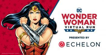 DC Wonder Woman™ Virtual Run Presented by Echelon® | July 1, 2021 - November 1, 2021