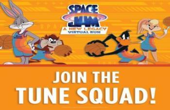 Space Jam: A New Legacy Virtual Run   July 12, 2021 - September 19, 2021