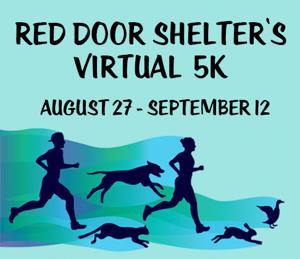 Red Door Shelter's Virtual 5K