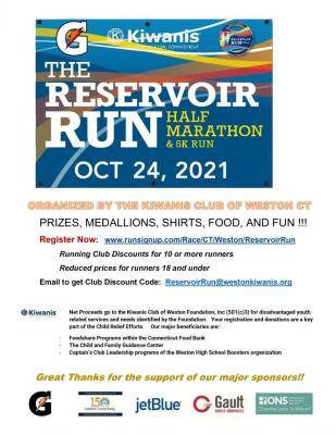 Reservoir Run Races 5K and Half Marathon