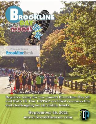 Brookline Day 1K/5K Road Race