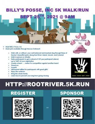 Billy's Posse Inc Root River 5k Walk/Run