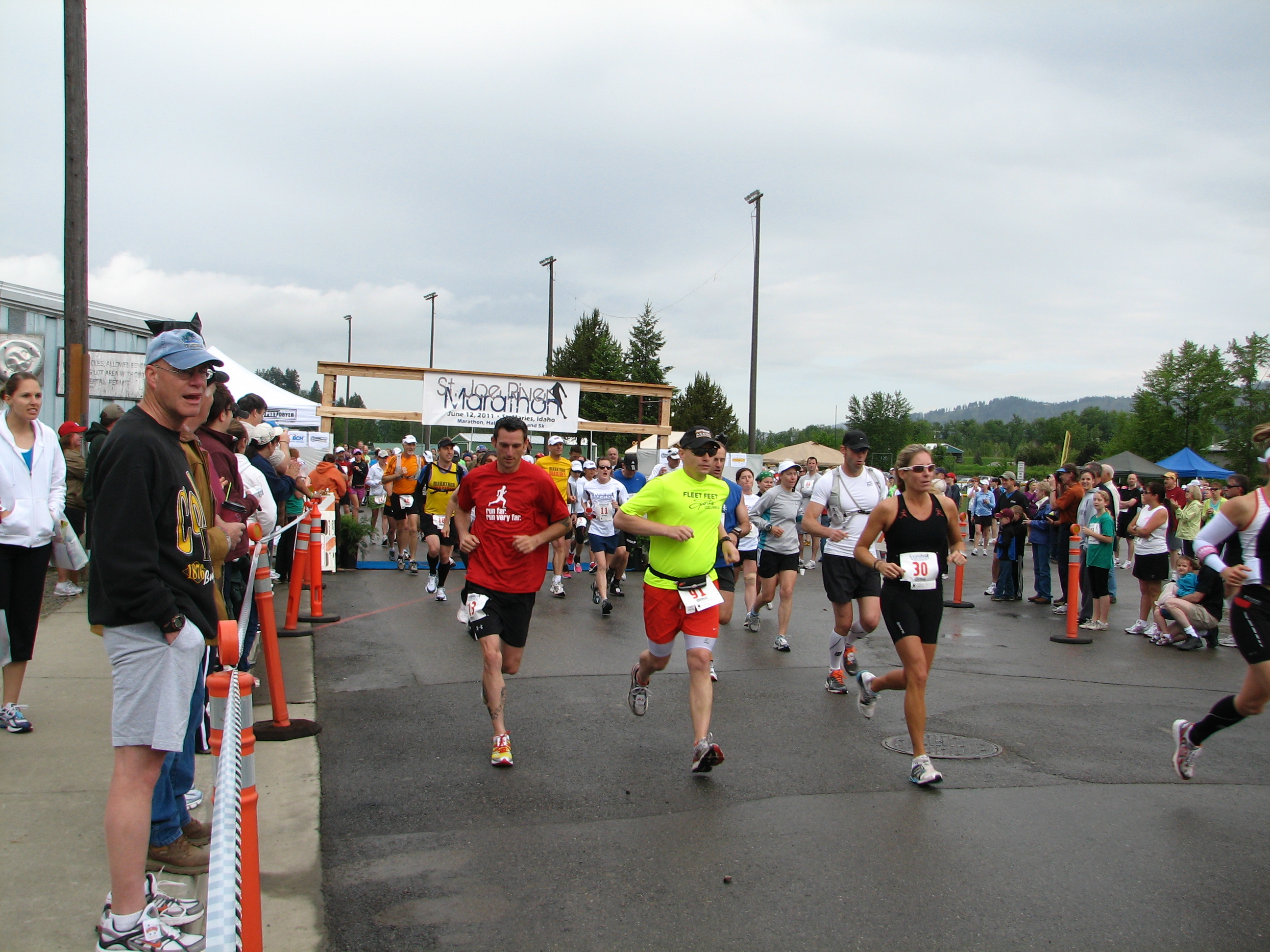 St. Joe River Marathon in Northern Idaho