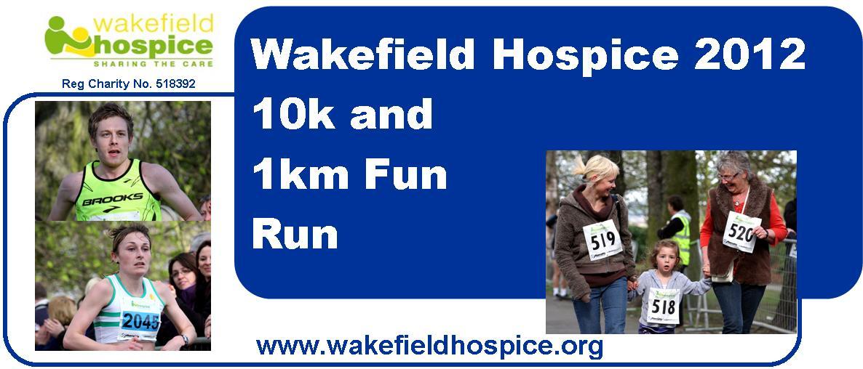 Wakefield Hospice 10k Road Race and 1km Fun Run