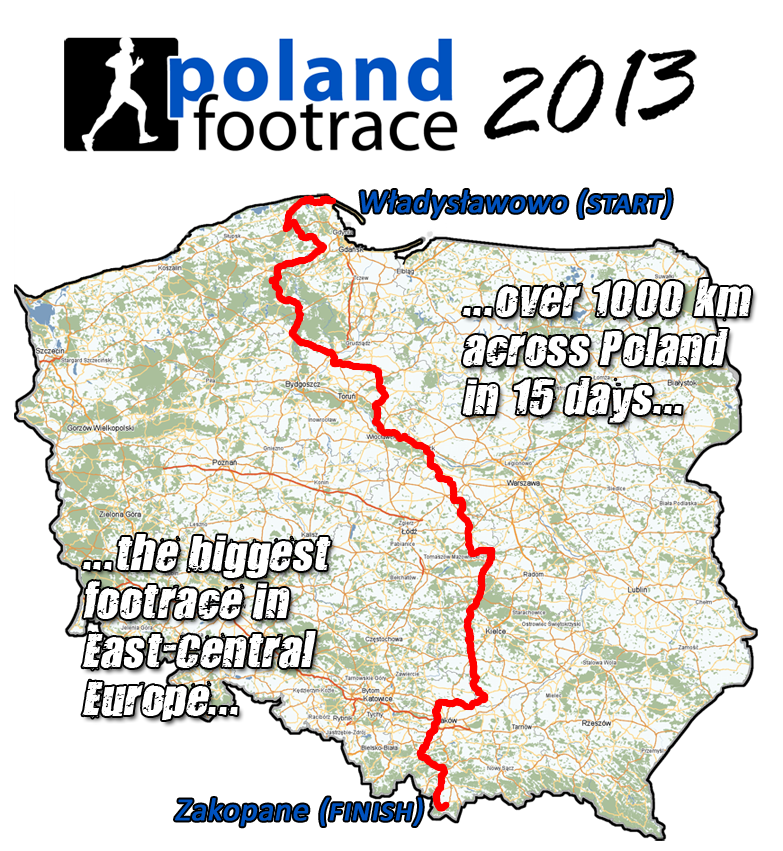 POLAND FOOTRACE 2013