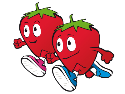 Strawberry Half Marathon, 5 Mile Race & 15K Walk