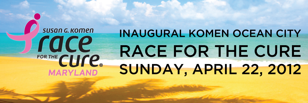 Inaugural Komen Maryland Ocean City Race for the Cure