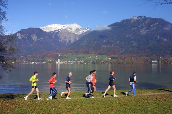 Salzkammergut Marathon & Wolfgangseelauf