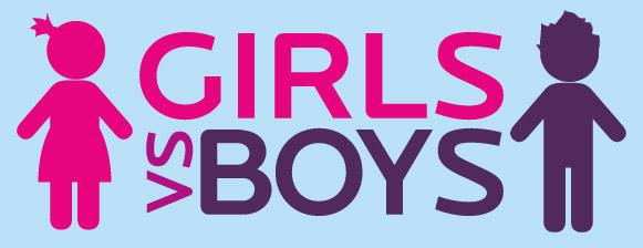 Girls vs Boys 5K race