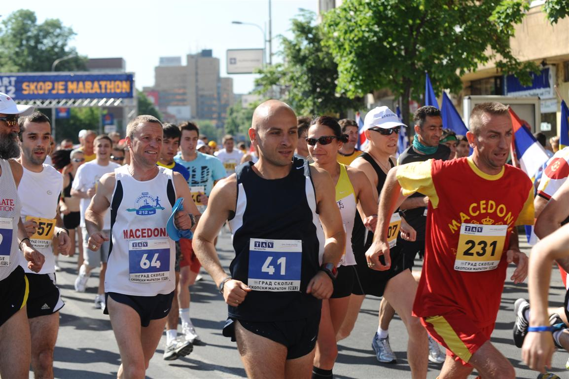 9th Skopje Marathon 2013