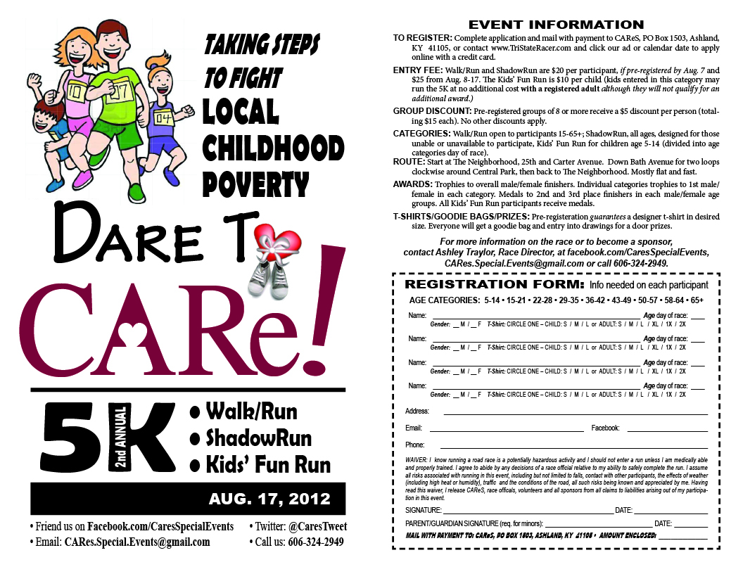 2nd annual Dare to CARe 5K