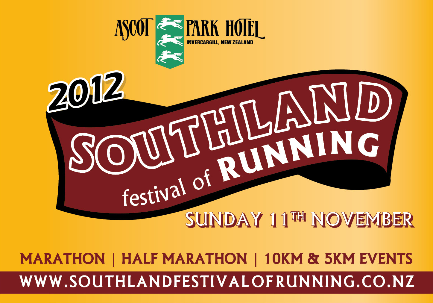Ascot Park Hotel Southland Festival of Running